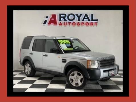 2006 Land Rover LR3 for sale at Royal AutoSport in Sacramento CA