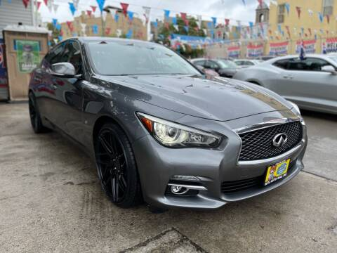 2015 Infiniti Q50 for sale at Elite Automall Inc in Ridgewood NY