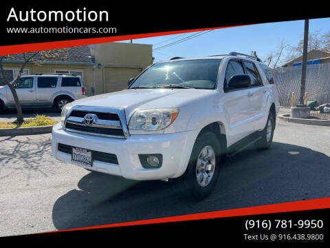 2007 Toyota 4Runner for sale at Automotion in Roseville CA