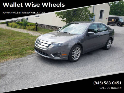 2011 Ford Fusion for sale at Wallet Wise Wheels in Montgomery NY