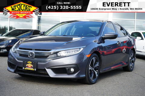 2016 Honda Civic for sale at West Coast Auto Works in Edmonds WA