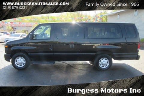 2012 Ford E-Series Wagon for sale at Burgess Motors Inc in Michigan City IN