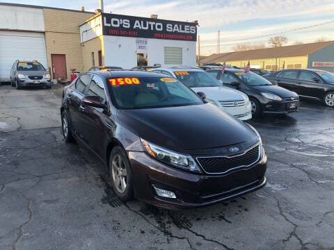 2015 Kia Optima for sale at Lo's Auto Sales in Cincinnati OH