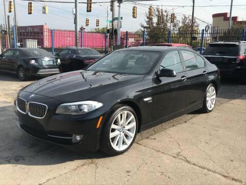 2011 BMW 5 Series for sale at SKYLINE AUTO in Detroit MI