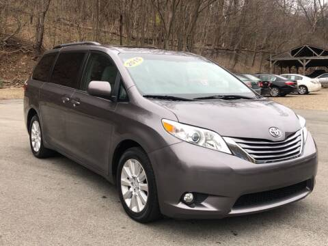 2015 Toyota Sienna for sale at Worldwide Auto Group LLC in Monroeville PA