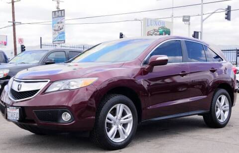 2014 Acura RDX for sale at Luxor Motors Inc in Pacoima CA