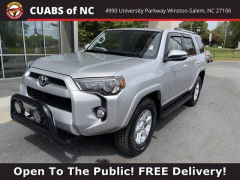 2019 Toyota 4Runner for sale at Credit Union Auto Buying Service in Winston Salem NC