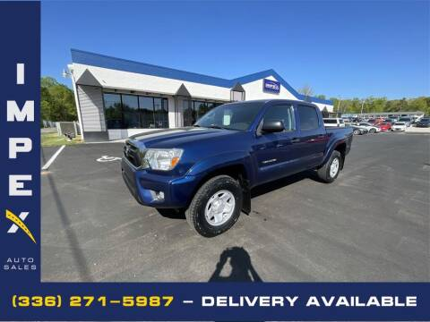 2015 Toyota Tacoma for sale at Impex Auto Sales in Greensboro NC