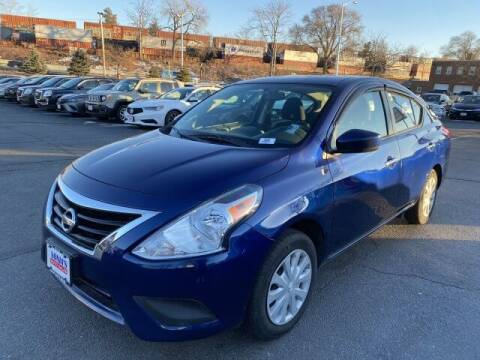 2018 Nissan Versa for sale at Sonias Auto Sales in Worcester MA