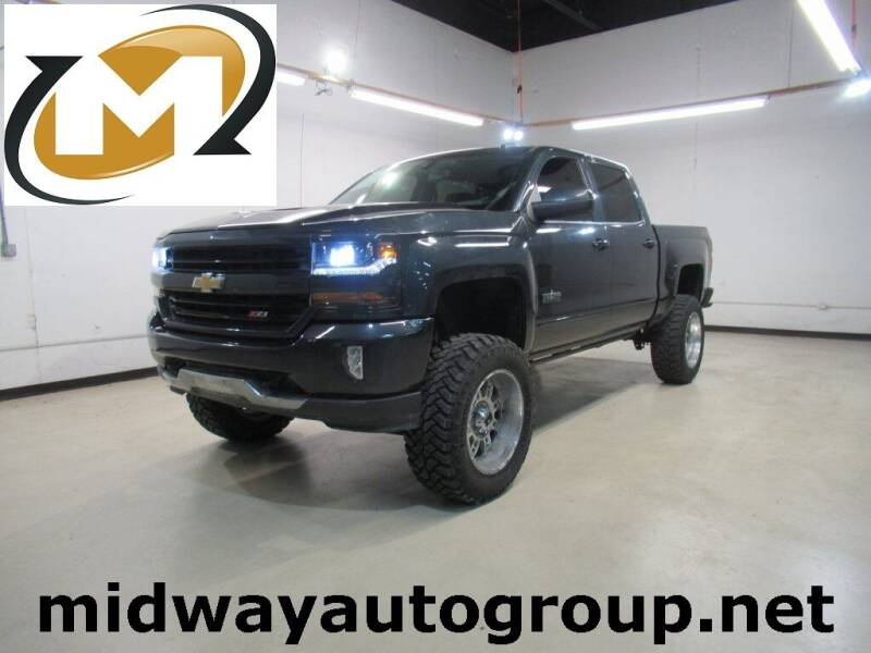2018 Chevrolet Silverado 1500 for sale at Midway Auto Group in Addison TX