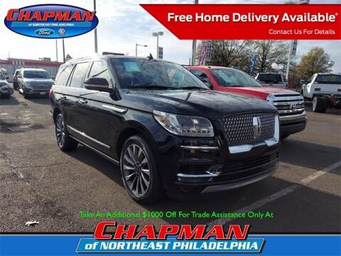 2018 Lincoln Navigator for sale at CHAPMAN FORD NORTHEAST PHILADELPHIA in Philadelphia PA