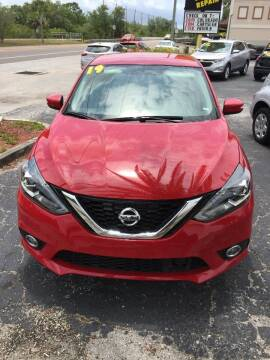 2019 Nissan Sentra for sale at DUNEDIN AUTO SALES INC in Dunedin FL