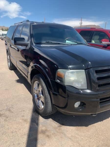 2008 Ford Expedition EL for sale at Poor Boyz Auto Sales in Kingman AZ
