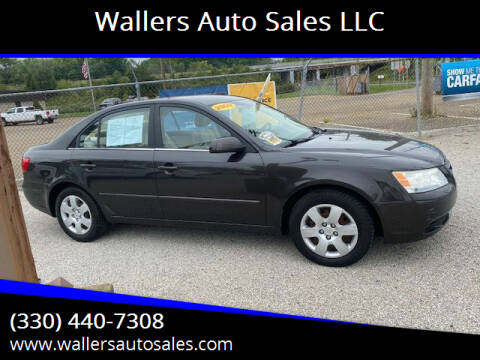 2009 Hyundai Sonata for sale at Wallers Auto Sales LLC in Dover OH