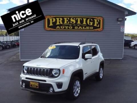 2020 Jeep Renegade for sale at PRESTIGE AUTO SALES in Spearfish SD