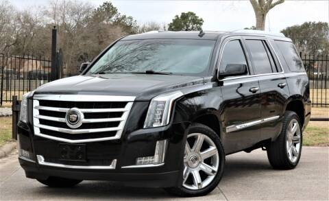 2015 Cadillac Escalade for sale at Texas Auto Corporation in Houston TX