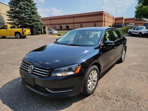 2014 Volkswagen Passat for sale at Fleet Automotive LLC in Maplewood MN