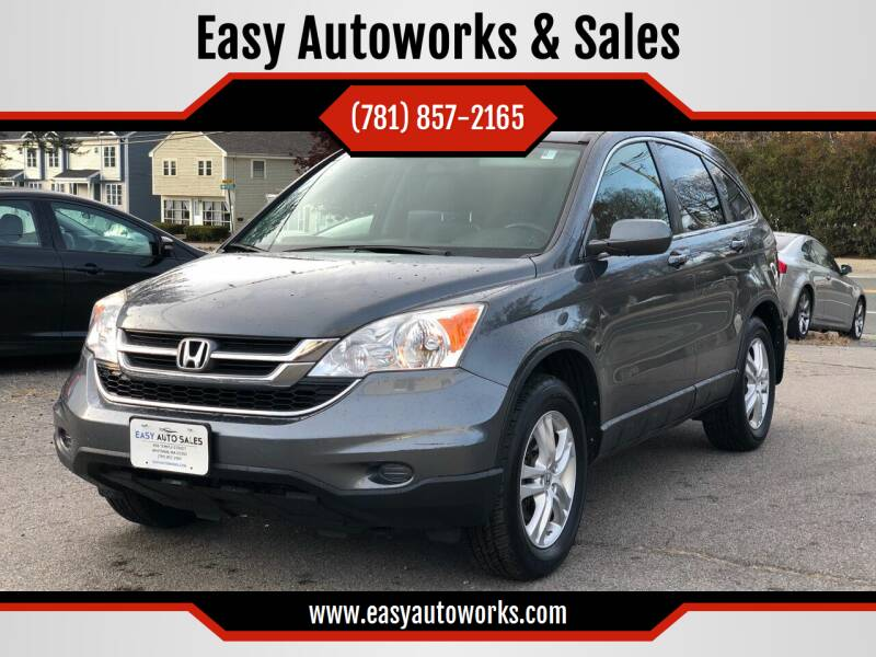 2010 Honda CR-V for sale at Easy Autoworks & Sales in Whitman MA