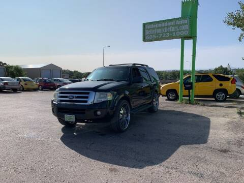 2010 Ford Expedition for sale at Independent Auto in Belle Fourche SD