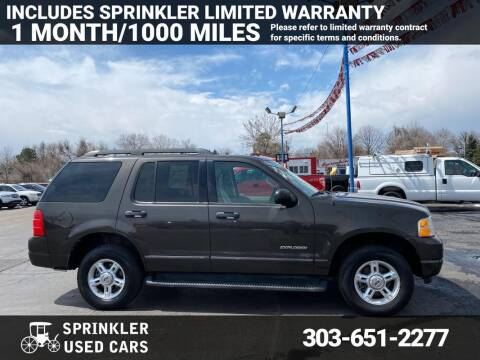 2005 Ford Explorer for sale at Sprinkler Used Cars in Longmont CO