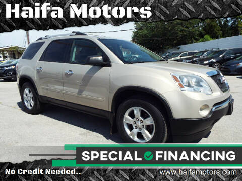 2012 GMC Acadia for sale at Haifa Motors in Philadelphia PA