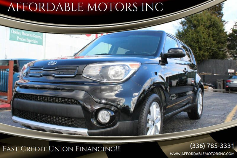 2017 Kia Soul for sale at AFFORDABLE MOTORS INC in Winston Salem NC