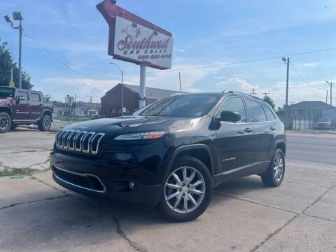 2018 Jeep Cherokee for sale at Southwest Car Sales in Oklahoma City OK