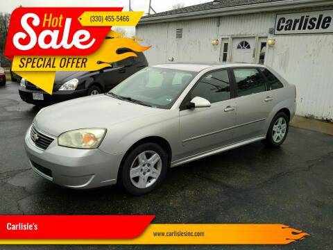 2006 Chevrolet Malibu Maxx for sale at Carlisle's in Canton OH