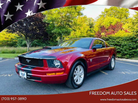 2009 Ford Mustang for sale at Freedom Auto Sales in Chantilly VA