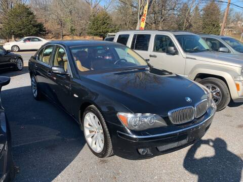 2007 BMW 7 Series for sale at Harrisburg Auto Center Inc. in Harrisburg PA