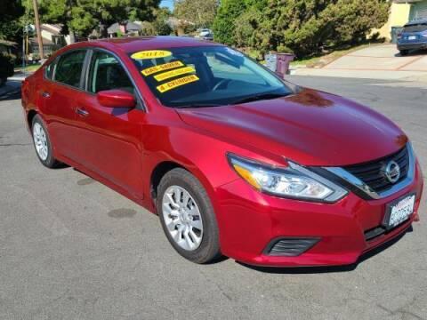 2018 Nissan Altima for sale at CAR CITY SALES in La Crescenta CA