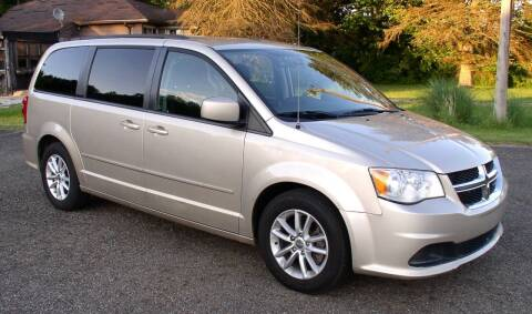 2015 Dodge Grand Caravan for sale at Angelo's Auto Sales in Lowellville OH
