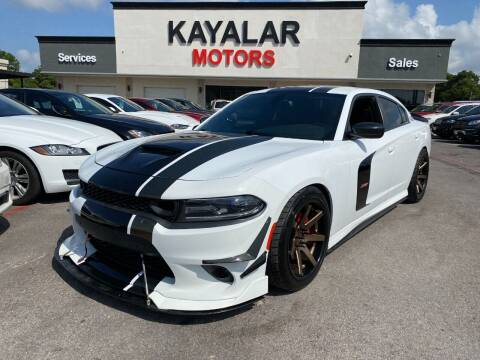 2016 Dodge Charger for sale at KAYALAR MOTORS in Houston TX