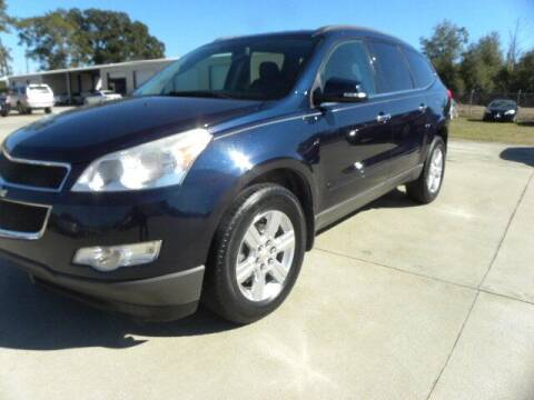 2012 Chevrolet Traverse for sale at VANN'S AUTO MART in Jesup GA