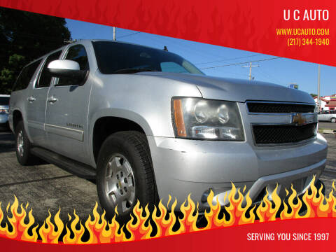 2012 Chevrolet Suburban for sale at U C AUTO in Urbana IL