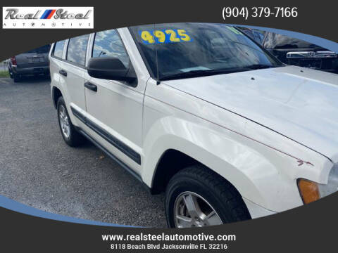 2005 Jeep Grand Cherokee for sale at Real Steel Automotive in Jacksonville FL