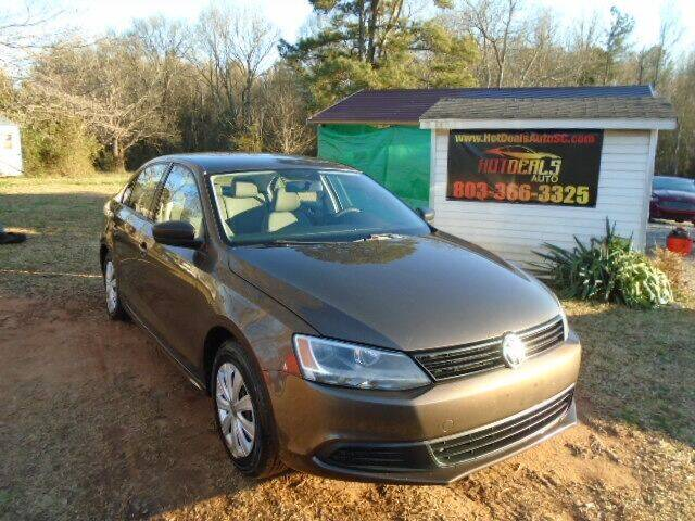 2011 Volkswagen Jetta for sale at Hot Deals Auto LLC in Rock Hill SC