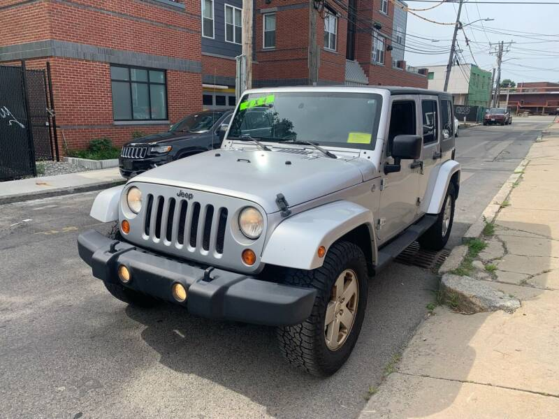 2007 Jeep Wrangler Unlimited for sale at Rockland Center Enterprises in Boston MA
