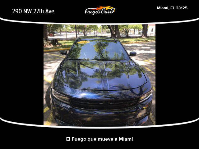 2015 Dodge Charger for sale at Fuego's Cars in Miami FL