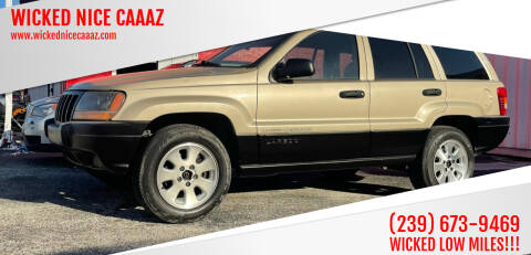 2001 Jeep Grand Cherokee for sale at WICKED NICE CAAAZ in Cape Coral FL