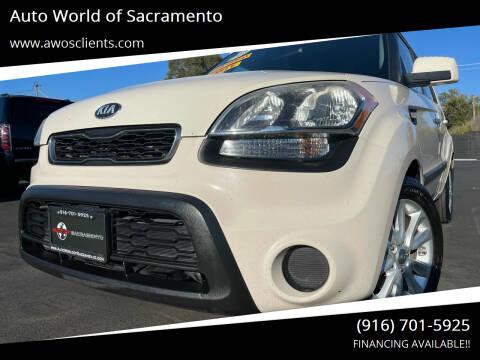 2013 Kia Soul for sale at Auto World of Sacramento Stockton Blvd in Sacramento CA