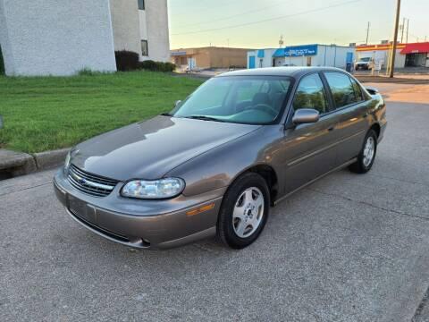 2002 Chevrolet Malibu for sale at Image Auto Sales in Dallas TX