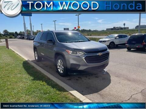 2018 Chevrolet Traverse for sale at Tom Wood Honda in Anderson IN