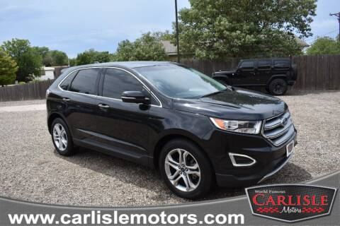 2015 Ford Edge for sale at Carlisle Motors in Lubbock TX