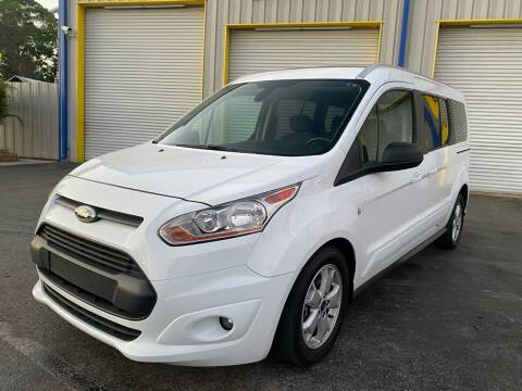 2016 Ford Transit Connect Wagon for sale at RoMicco Cars and Trucks in Tampa FL
