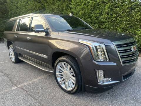 2015 Cadillac Escalade ESV for sale at Limitless Garage Inc. in Rockville MD