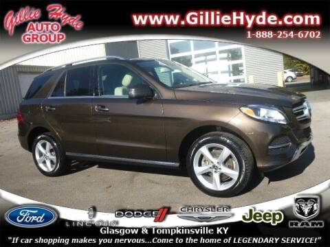 2017 Mercedes-Benz GLE for sale at Gillie Hyde Auto Group in Glasgow KY