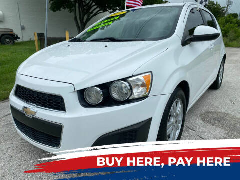 2016 Chevrolet Sonic for sale at Nationwide Auto Finance in Miami FL