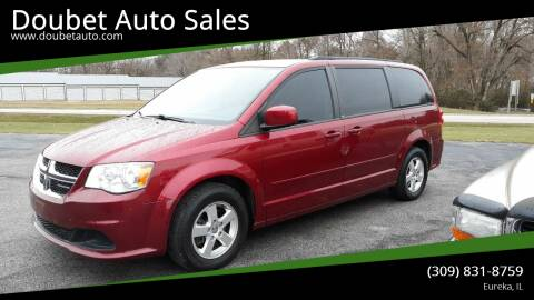 2011 Dodge Grand Caravan for sale at Doubet Auto Sales in Eureka IL