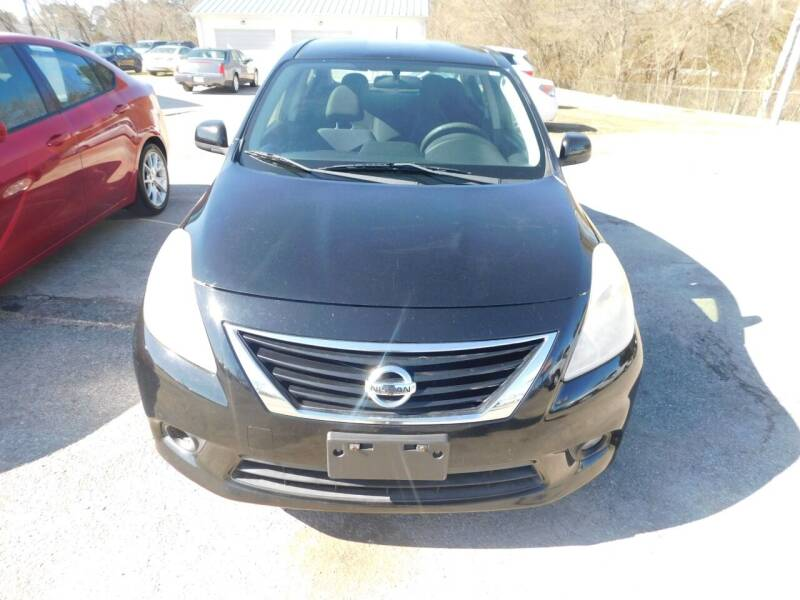 2012 Nissan Versa for sale at National Advance Auto Sales in Florence AL
